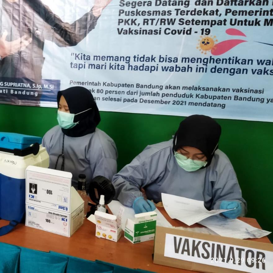 Gebyar Vaksin 1000 Dosis Desa Wargaluyu Part 2